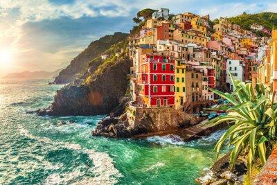Sticker Riomaggiore, Cinque Terre, Italy