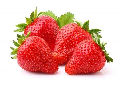 Sticker Ripe strawberry