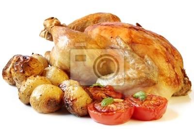 Sticker Roasted Chicken
