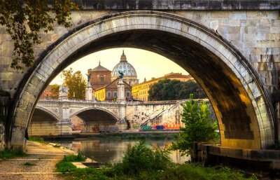 Sticker Rome, Italy.