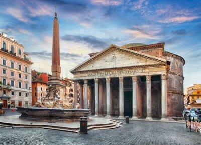 Sticker Rome - Pantheon, nobody
