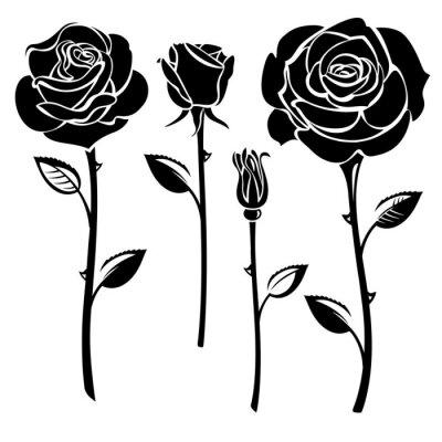 Sticker Roses