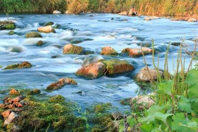 Sticker Rushing river