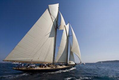 Sticker Sailing boat
