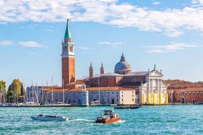 Sticker San Giorgio island in Venice, Italy