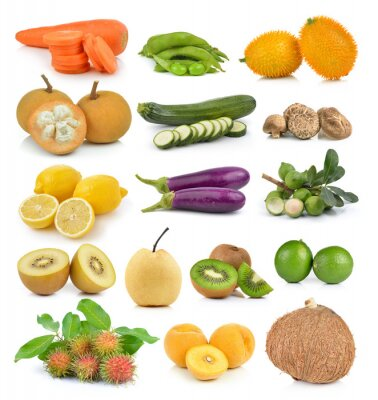 Sticker Santol, carrots, peas, mushrooms, zucchini, lemon macadamia, coc