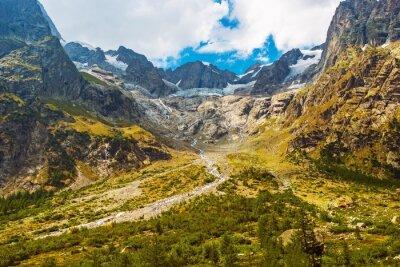 Sticker Scenic Mountain Landscape