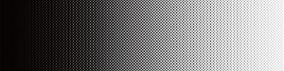 Sticker Screentone Graphics_Halftone Gradation_Black