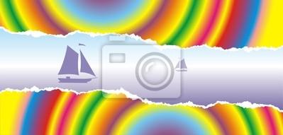 Sticker sea