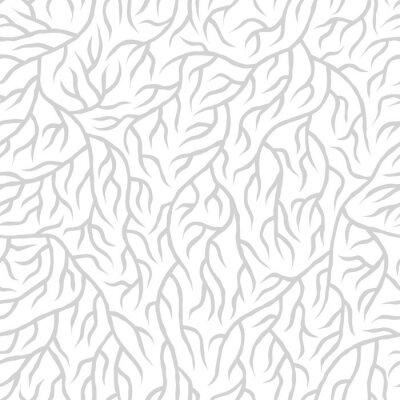 Sticker Seamless nature pattern
