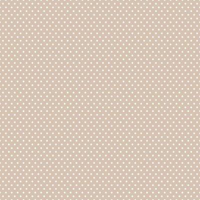 Sticker Seamless Polka dot background.