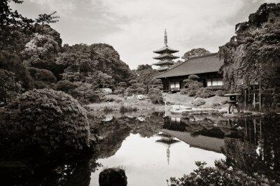 Sticker Sensoji Temple