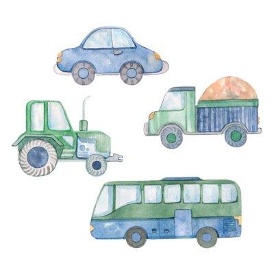 Sticker set transportation