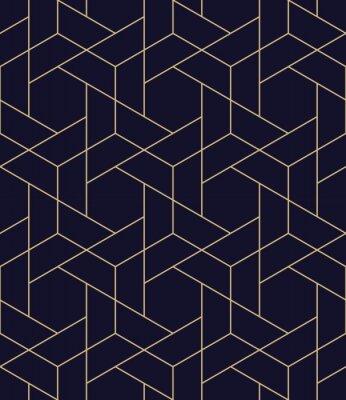 Sticker simple seamless geometric grid vector pattern