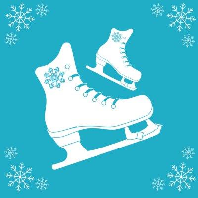 Sticker Skating icon design