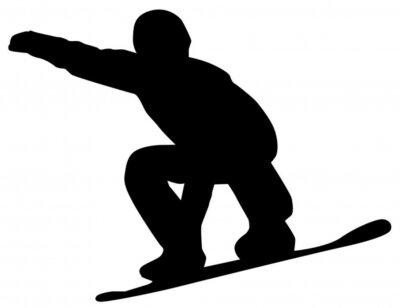 Sticker Snowboarder