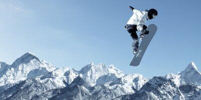 Sticker Snowboarding sport