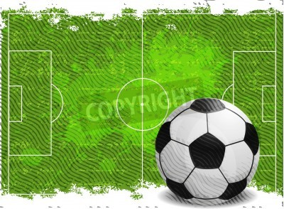 Sticker Soccer design background