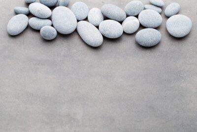 Sticker Spa stones treatment scene, zen like concepts.