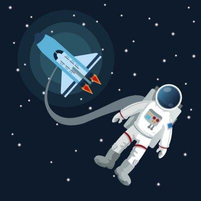 Sticker Space icon design