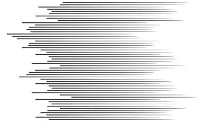 Sticker Speed lines background
