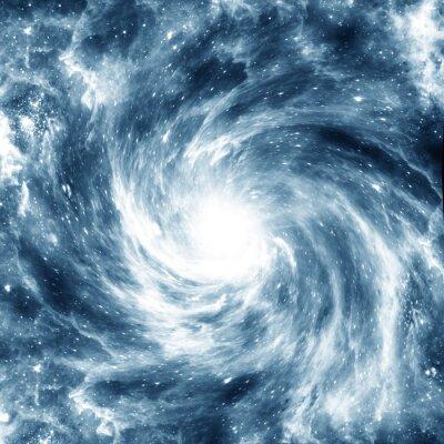 Sticker spiral Galaxy