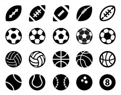 Sticker Sport Balls
