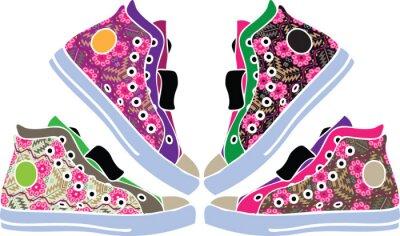 Sticker Sport shoes design