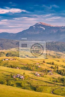 Spring Alpine landscape