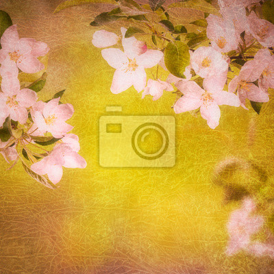Spring flowers background_7