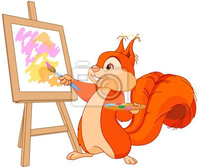 Sticker Squirrel artist