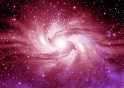 Sticker Stars, dust and gas nebula