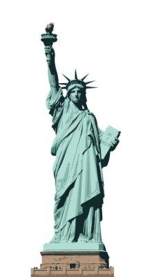 Sticker Statue of Liberty