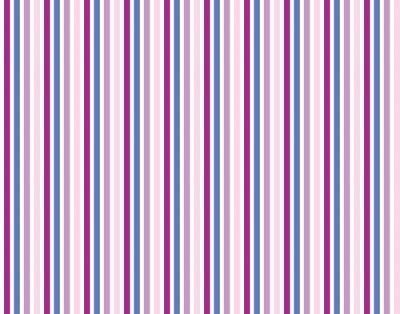 Sticker Streifenmuster Hintergrund lila pink balu