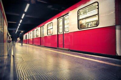 Sticker subway