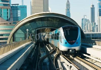 Sticker subway tracks in the united arab emirates