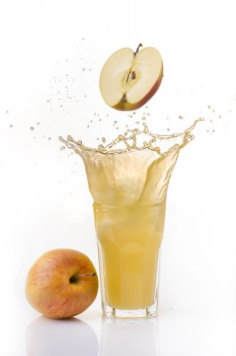 Sticker succo di mela