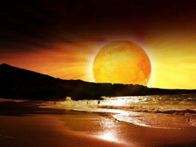 sunset sun britain