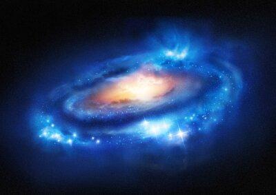 Sticker Super Massive Galaxy