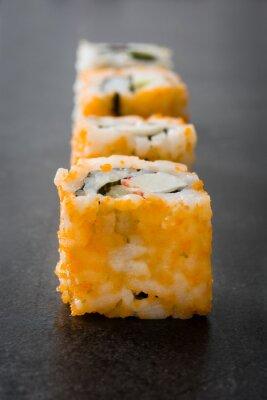 Sticker Sushi. Japanese food