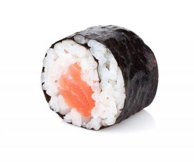 Sticker Sushi maki with salmon