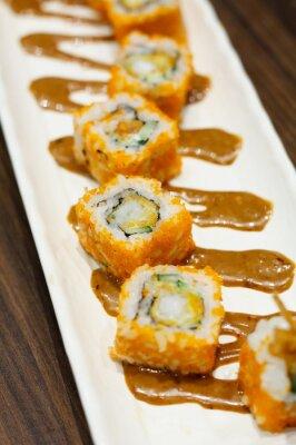 Sticker Sushi rolls
