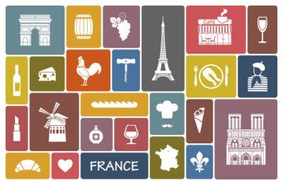 Sticker Symbols of France