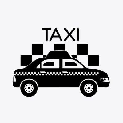 Sticker Taxi design.