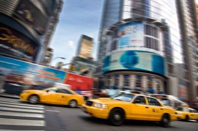 Sticker Taxis - New York, USA