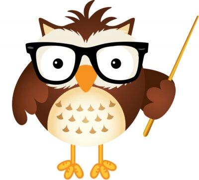 Sticker Teacher owl