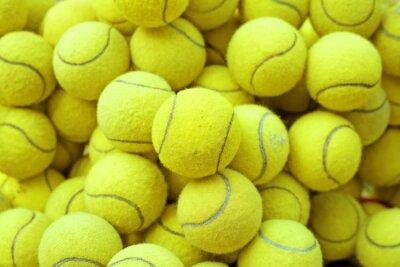 Sticker tennis ball