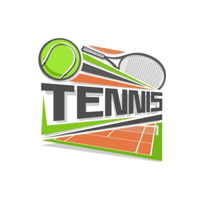 Sticker Tennis logo