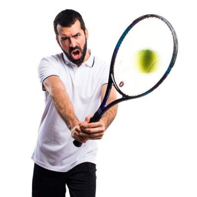 Sticker Tennis player