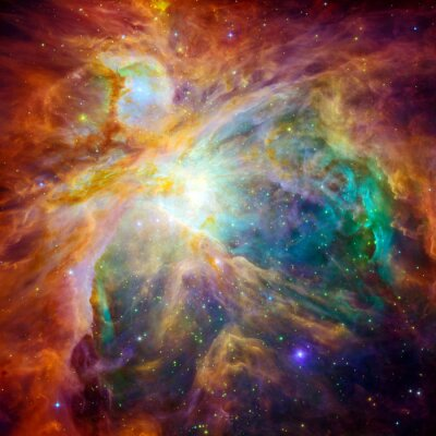 Sticker The cosmic cloud called Orion Nebula